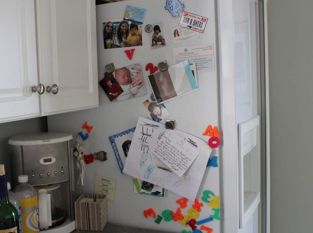 Guilded Kids Magnets ~ www.simplestylings.com