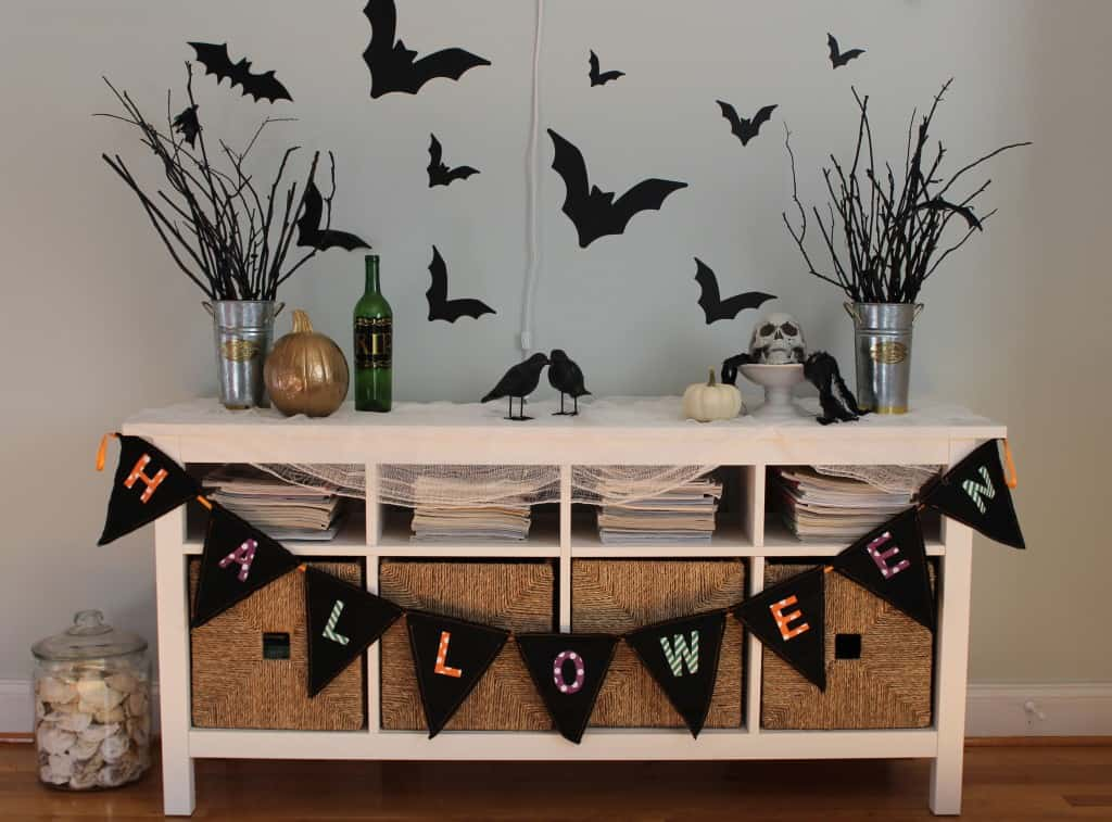 My First Halloween Vignette ~ www.simplestylings.com