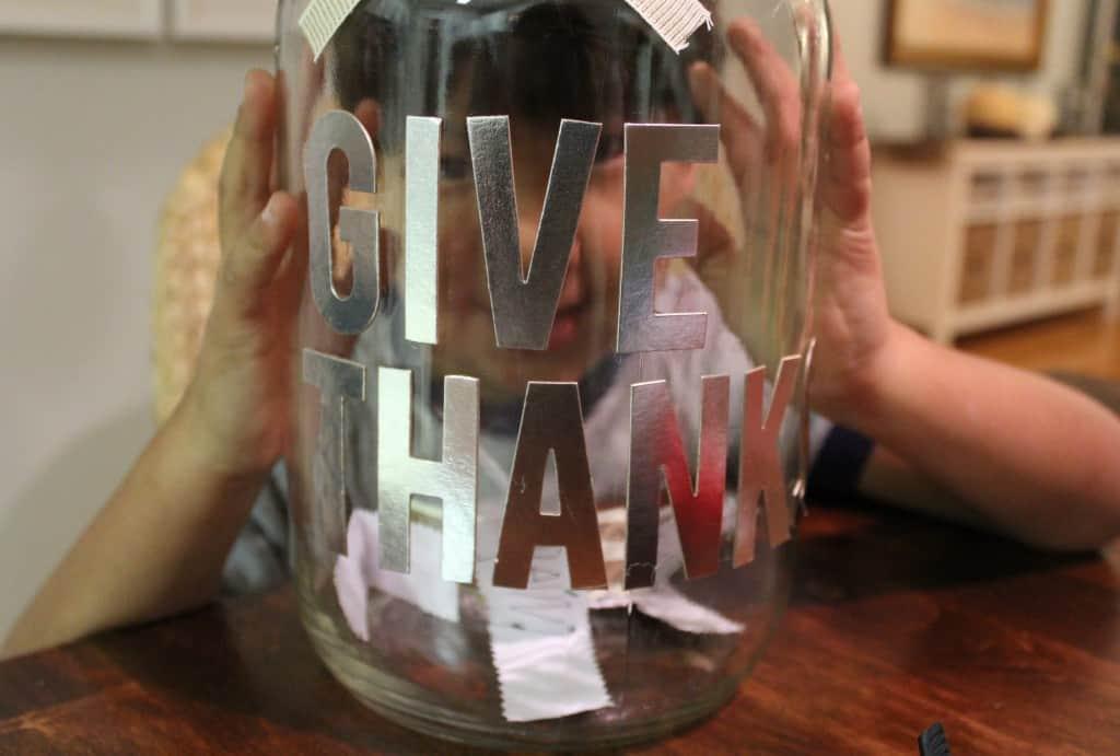Gratitude Jar: Day 7 ~ www.simplestylings.com
