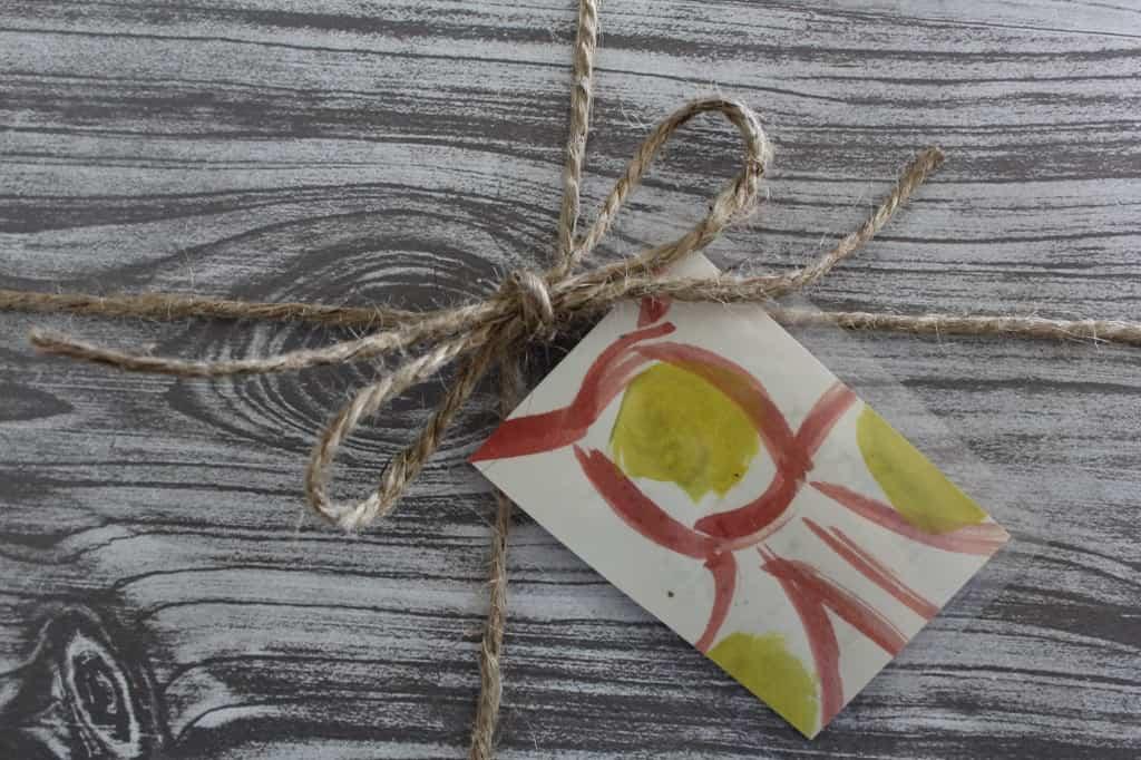 Kids Art Gift Tags