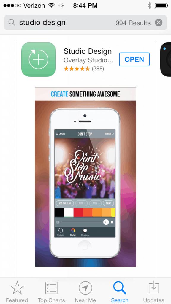 cool apps rock studio design aka graphic design for big