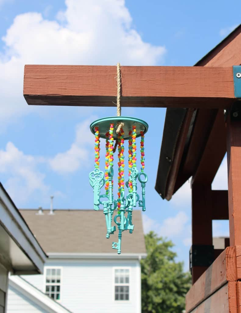 Easy diy wind chime simple stylings for How to make a simple wind chime