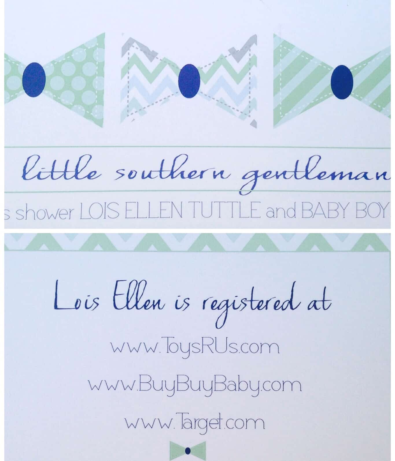 A DIY Baby Shower A Southern Gentleman Simple Stylings