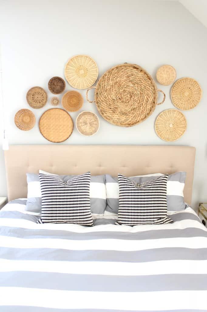Basket Wall and Home Tour