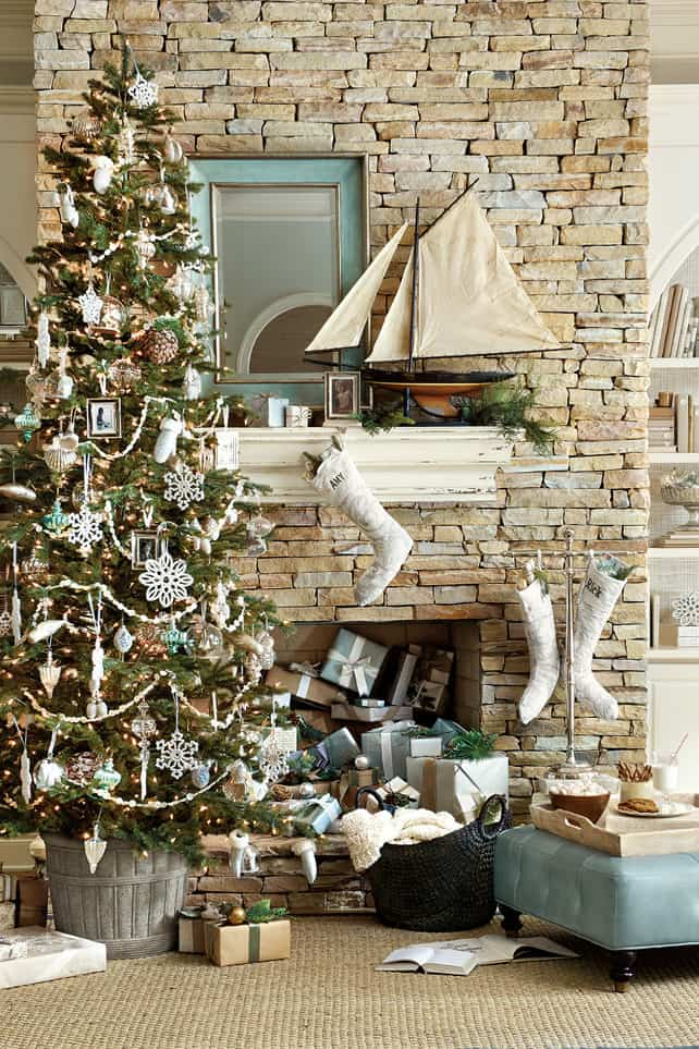 Coastal Christmas Inspiration - Simple Stylings
