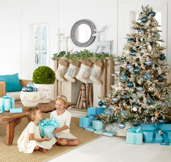 Christmas Decorations For The Beach House : Coastal christmas inspiration simple stylings