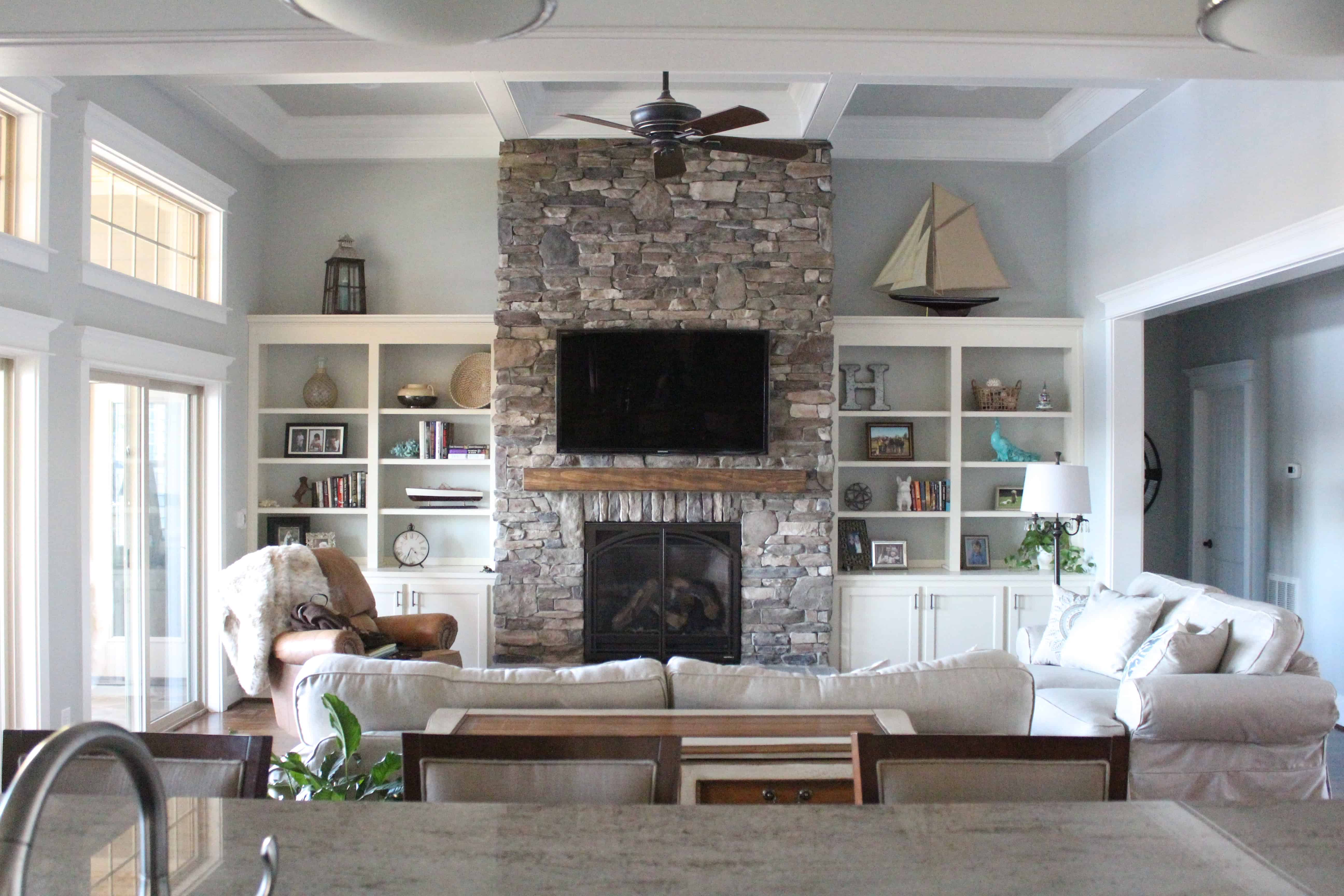 Home Of The Month: Lake House Sources - Simple Stylings