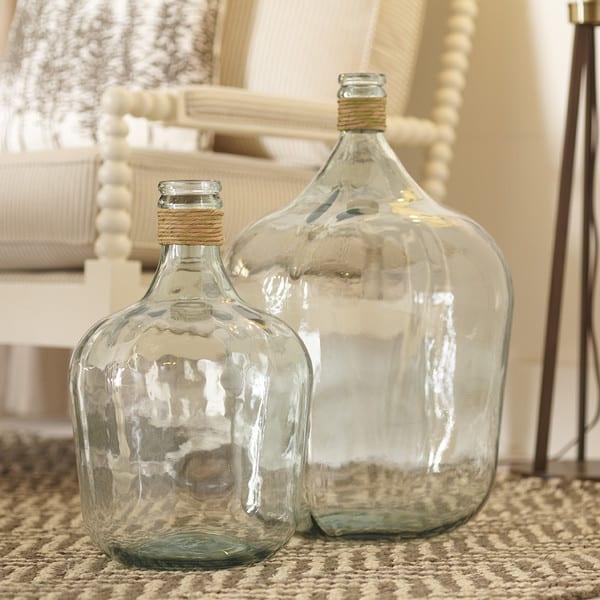 DIY Faux Demijohn Bottle www.simplestylings.com