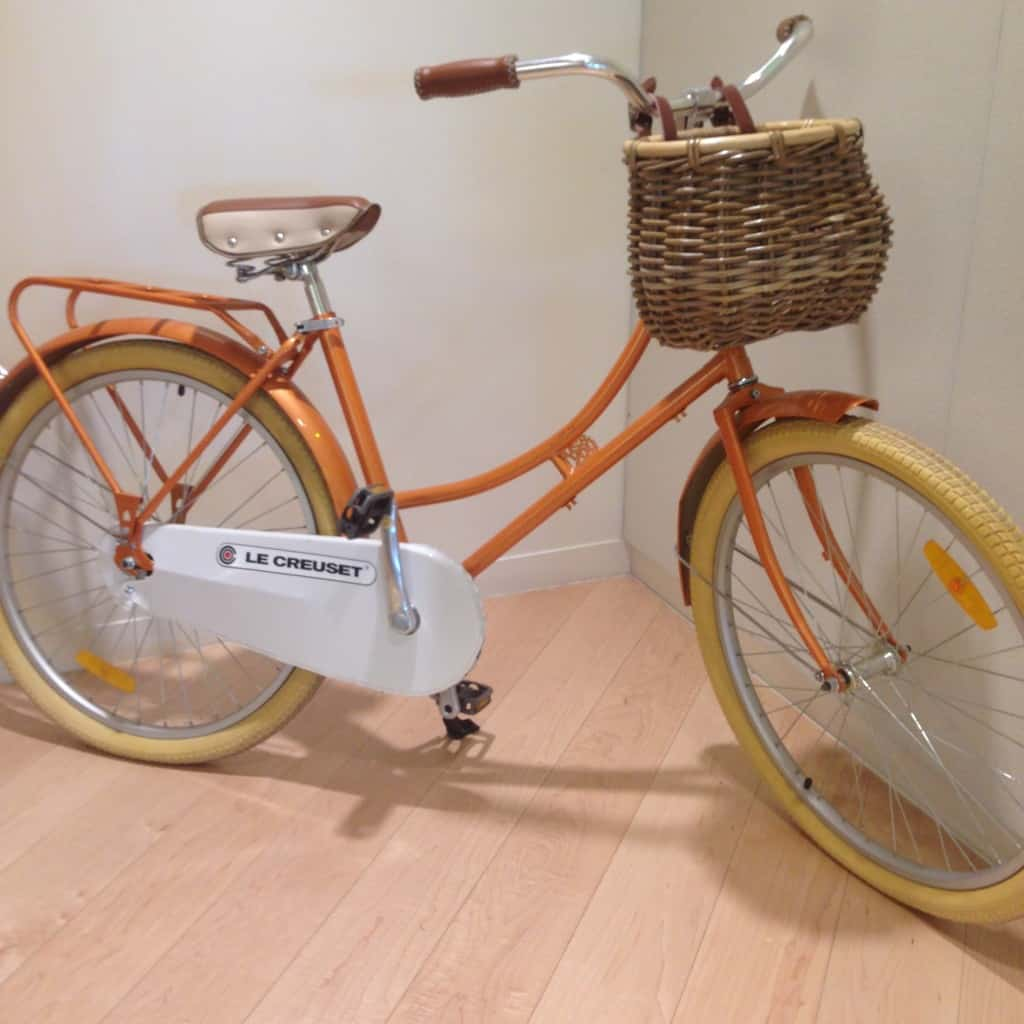 Le Creuset Bicycle