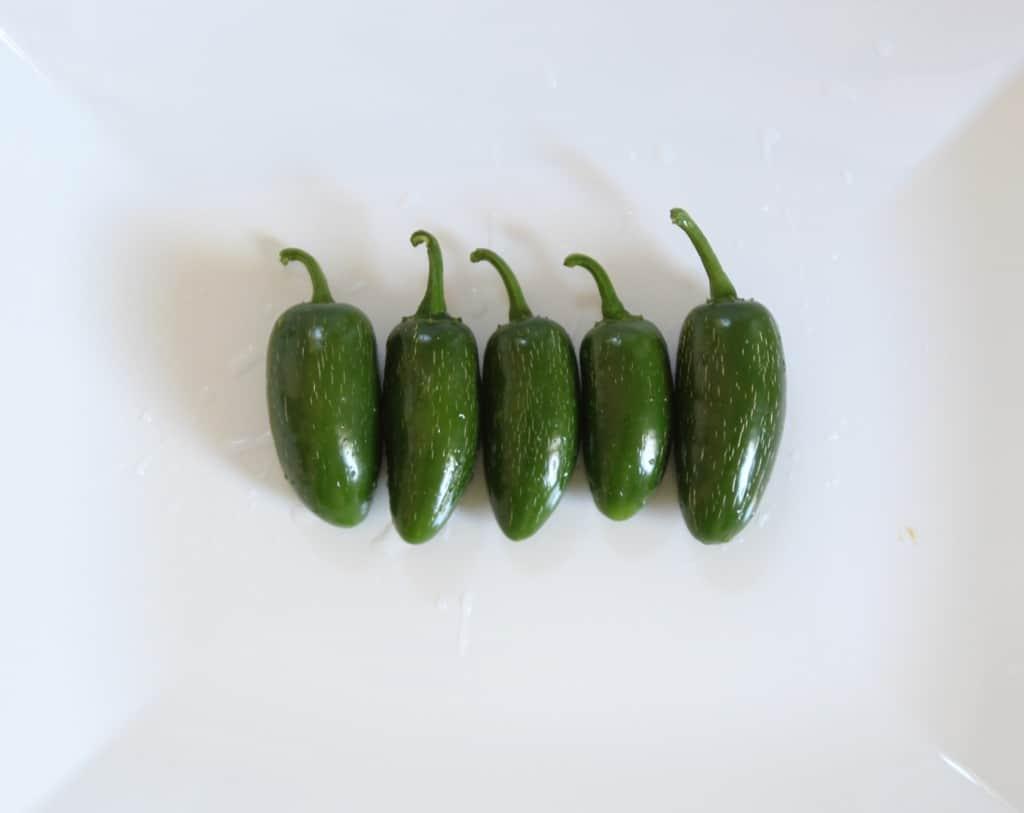 easy summertime appetizers jalapenos
