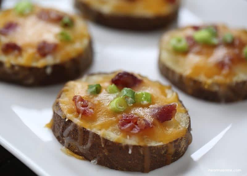 easy summertime appetizers potato skins