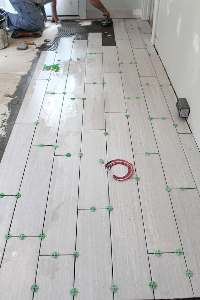 Kitchen Renovation: Floor Tile