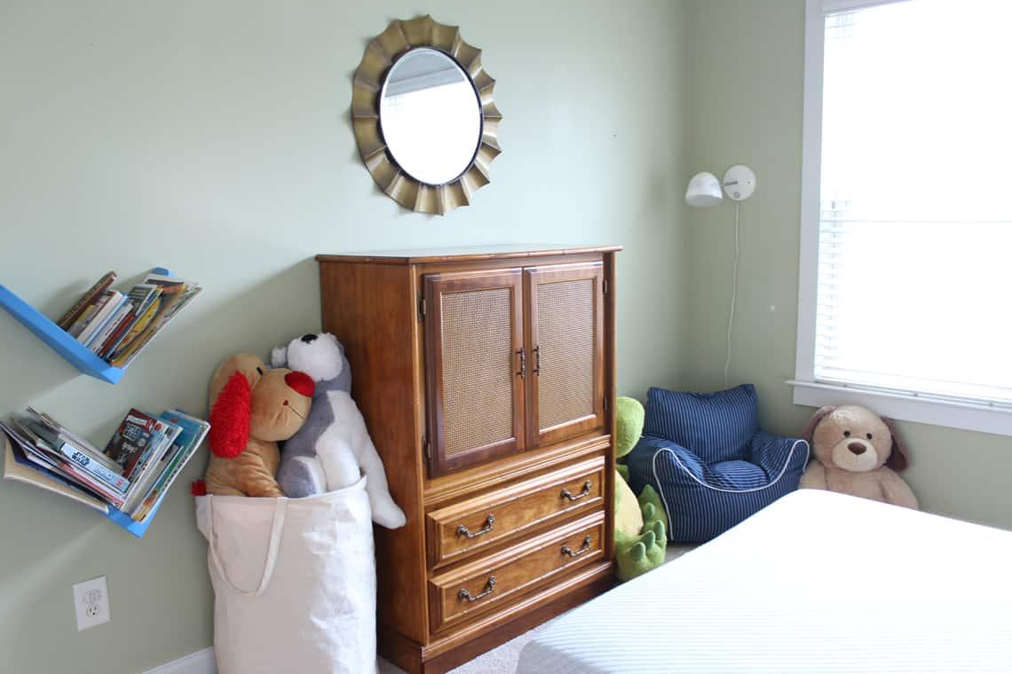 One Room Challenge: Big Boy Room Week 5