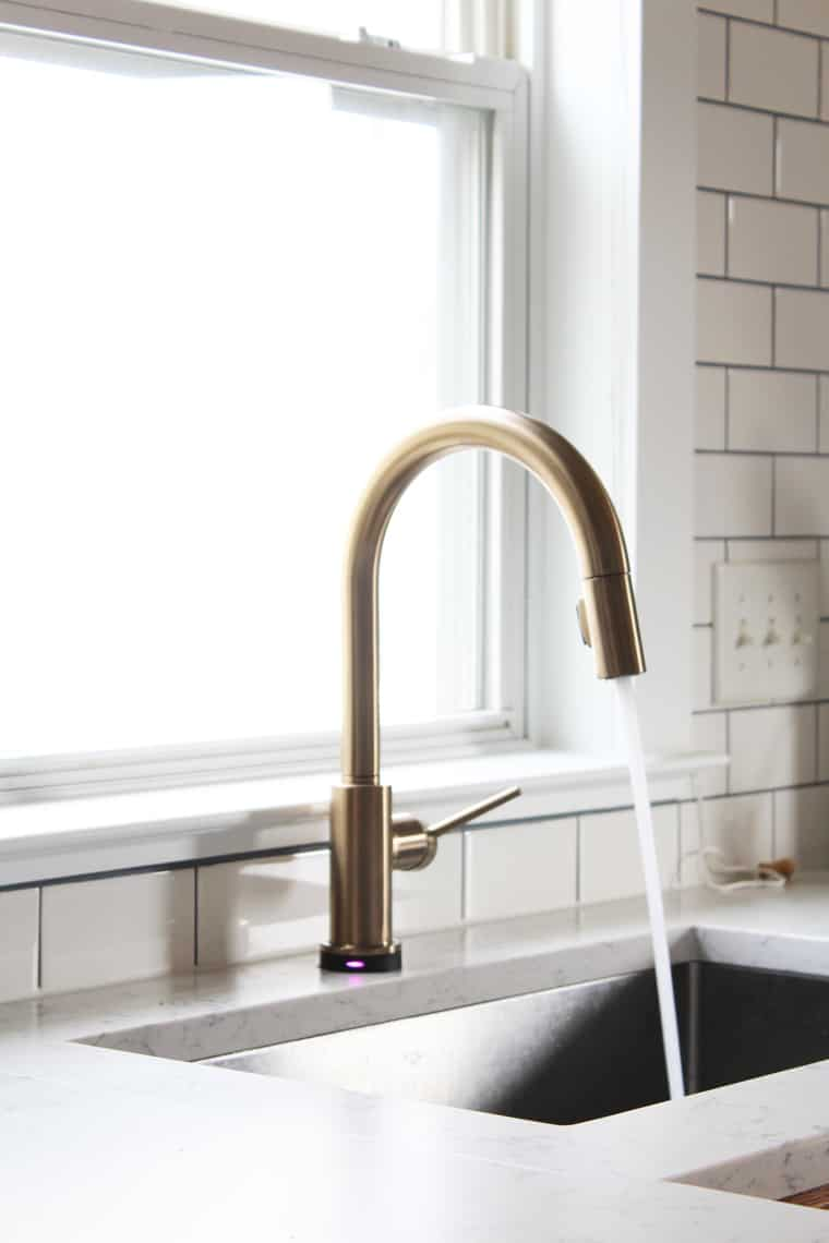 Kitchen Renovation Delta Touch20 Faucet Simple Stylings