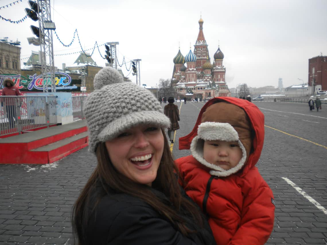 Me & Liam at Red Square