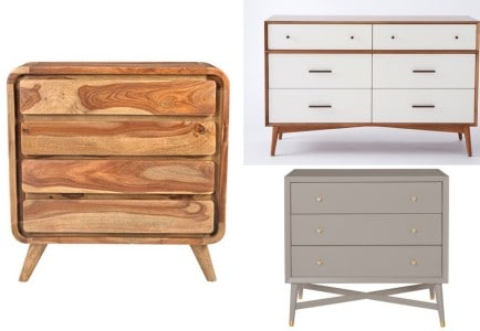 Mid Century Modern: Dressers, Chests and Consoles
