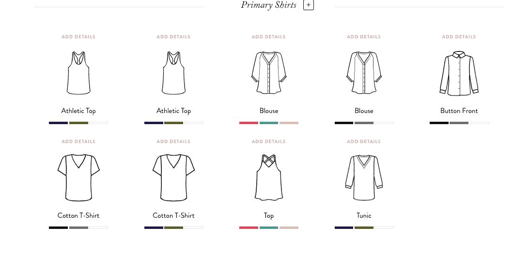 Building a Capsule Wardrobe: select pieces