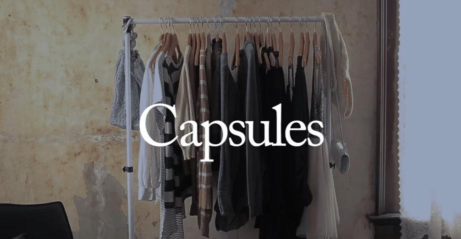 Building a Capsule Wardrobe