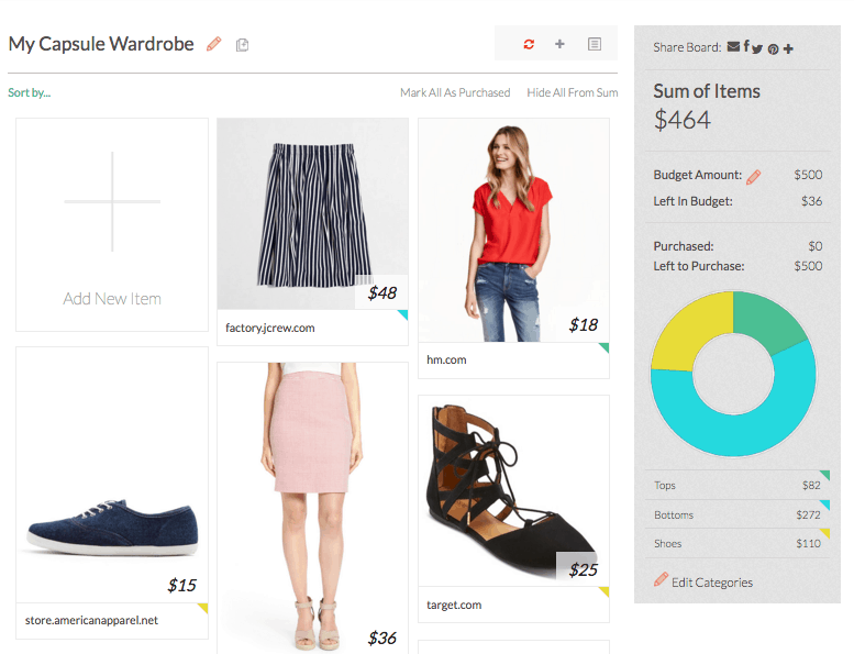 Building a Capsule Wardrobe: Itsums