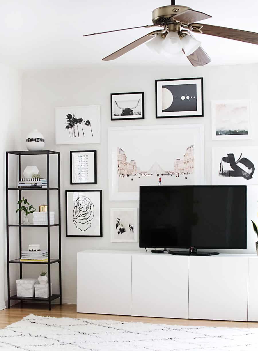Fun, Girly Living Space Design Inspo