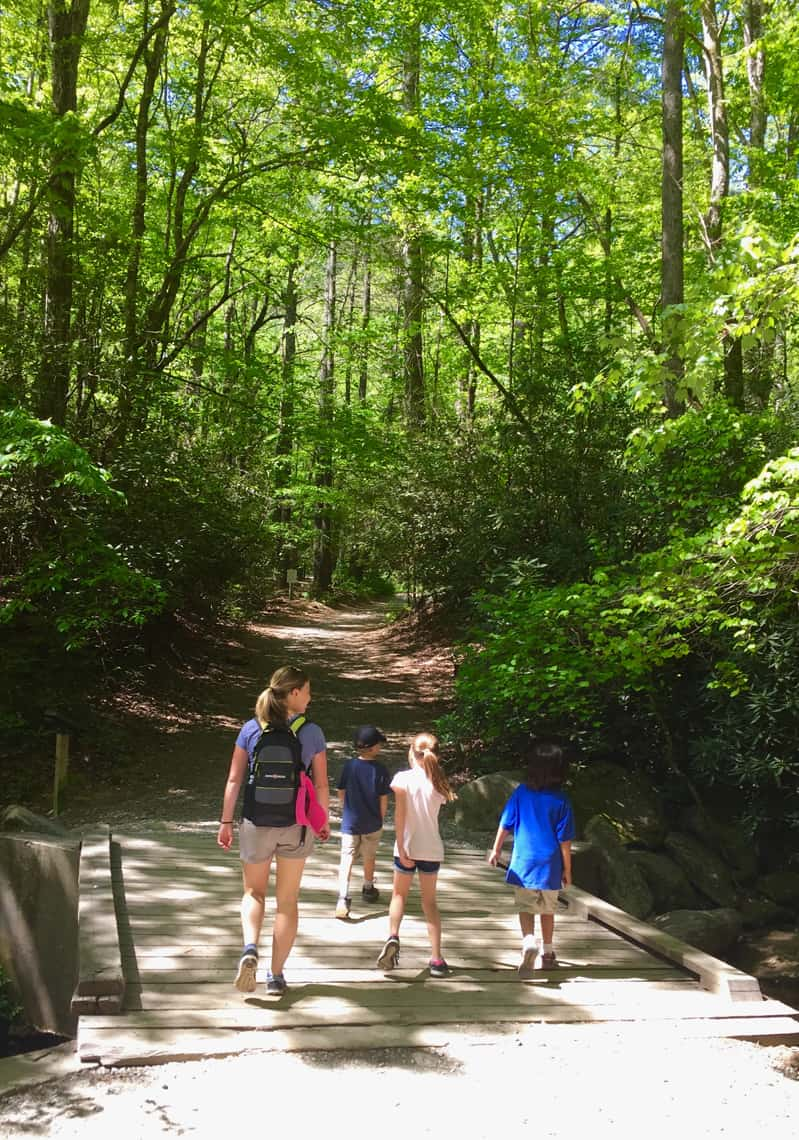 Kids At South Mountain State Park