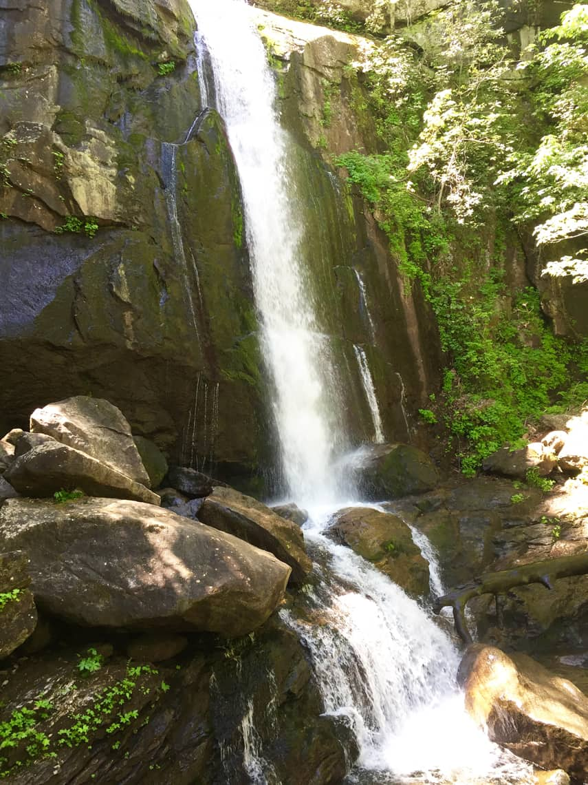South Mountain State Park Waterfall