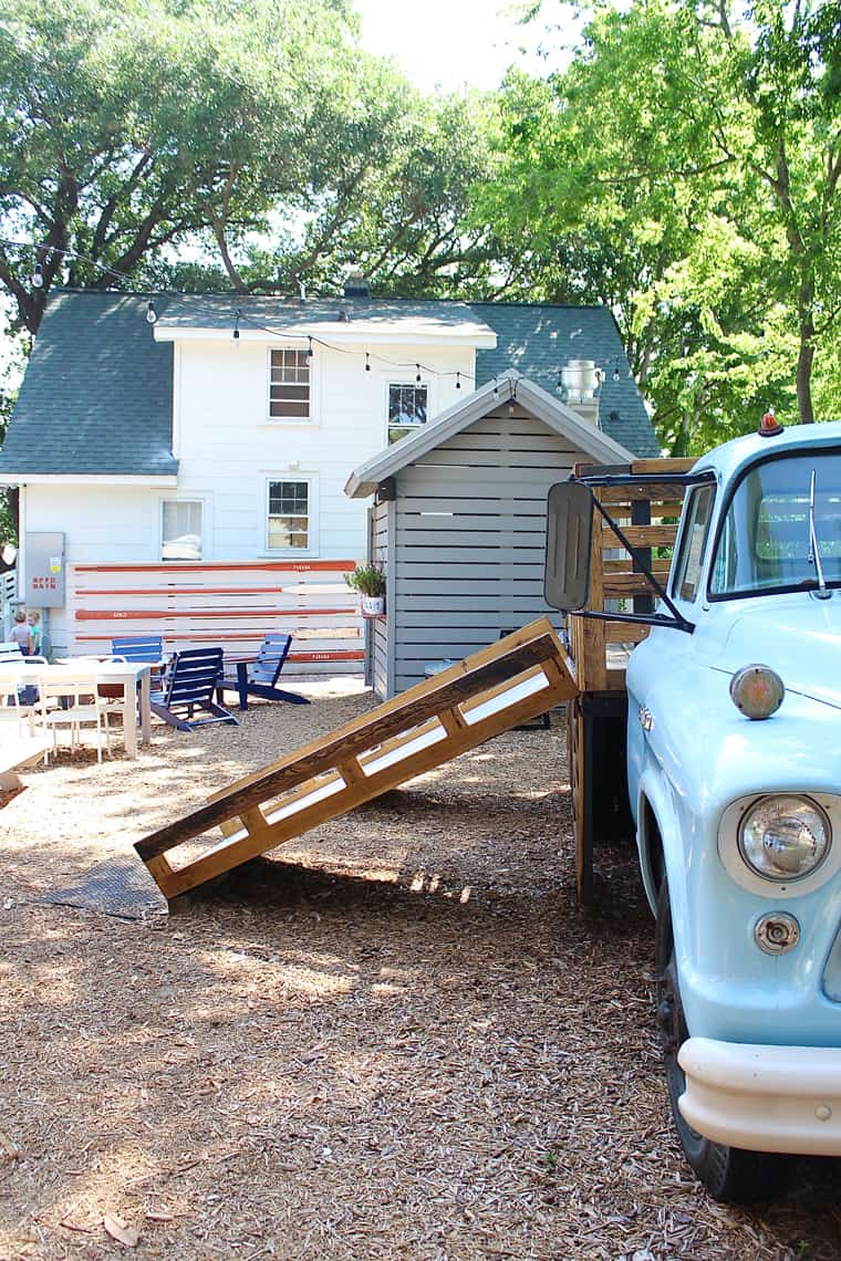 Roadtrip Reality: 24 Hours in Mt. Pleasant, SC Truck Jungle Gym at Vintage