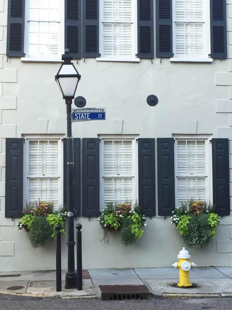 Trio of Charleston Window Boxes