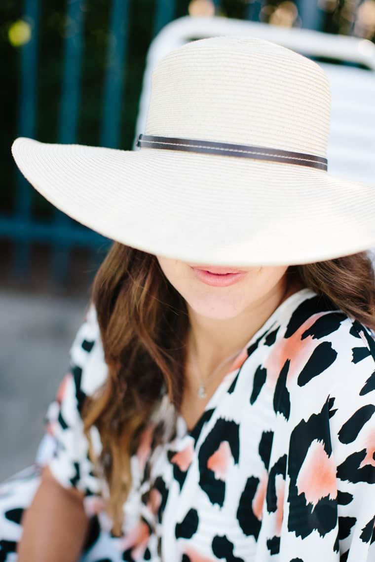 How To Style A Kaftan 3 Ways Floppy Hat