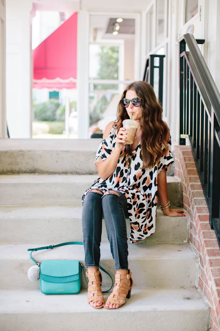 How To Style A Kaftan 3 Ways with Skinny Jeans