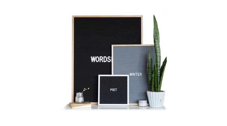 Favorite Things Friday Vol. 17 Letter Boards
