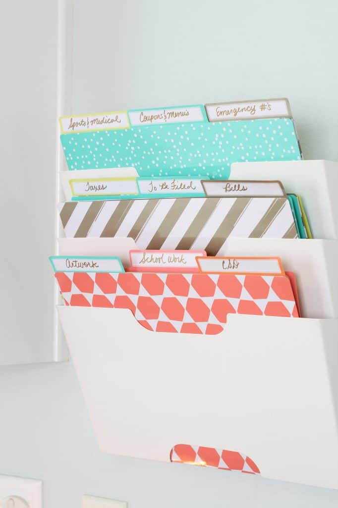 My Top 5 Back-To-School Survival Tips! paper storage