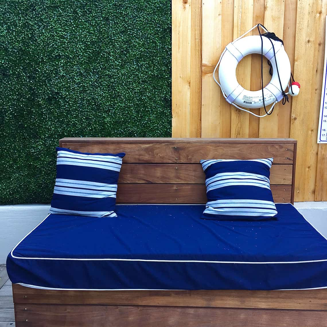 Interior Design Trend: Artificial Boxwood Craft City Social Club