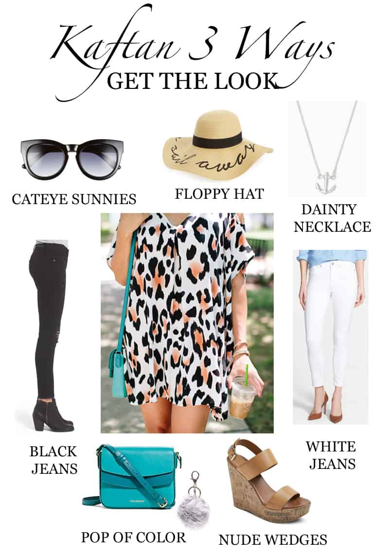 How To Style A Kaftan 3 Ways Get The Look