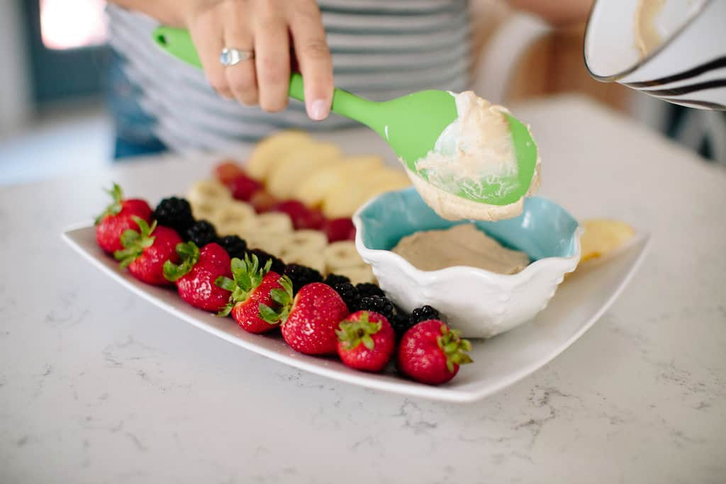 Peanut-Butter-and-Honey-Healthy-Fruit-Dip-spread