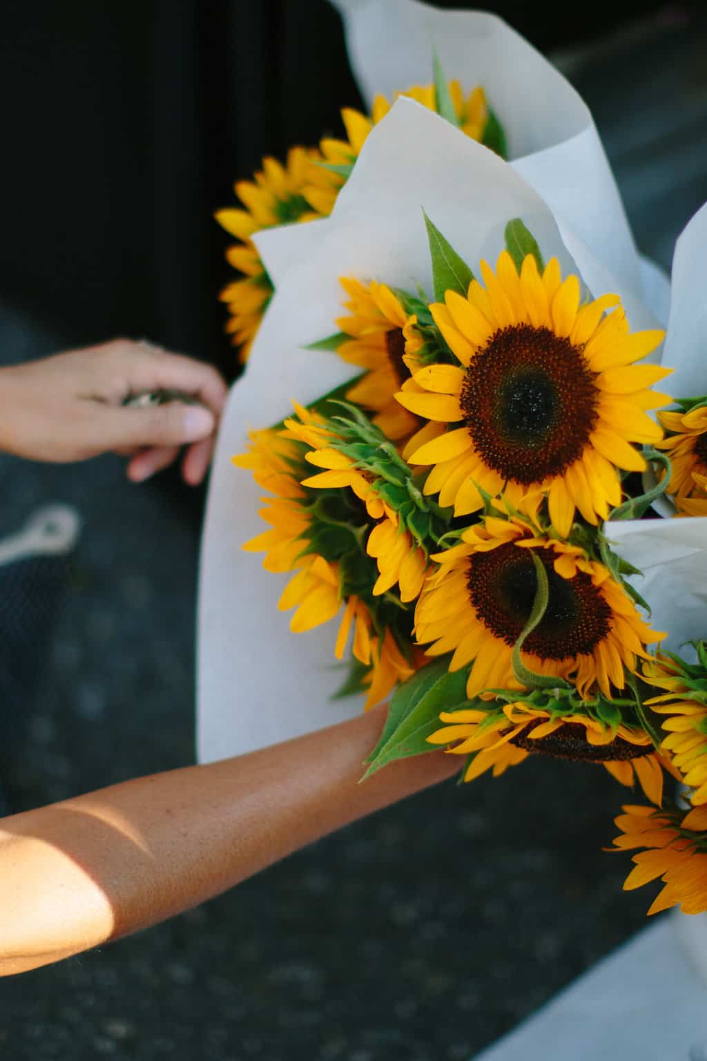 Family-Day-at-the-Davidson-Farmer's-Market-flowers
