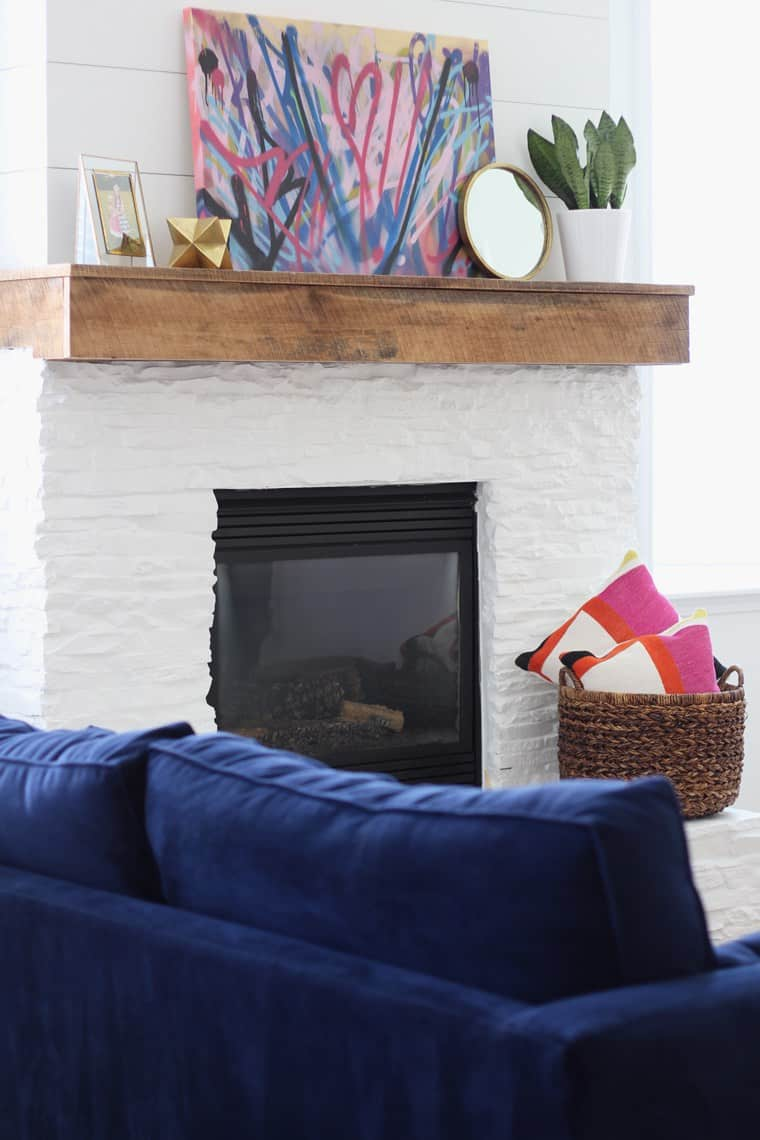 2016 In Review: Top 10 Favorite Posts + Projects-mantel-makeover