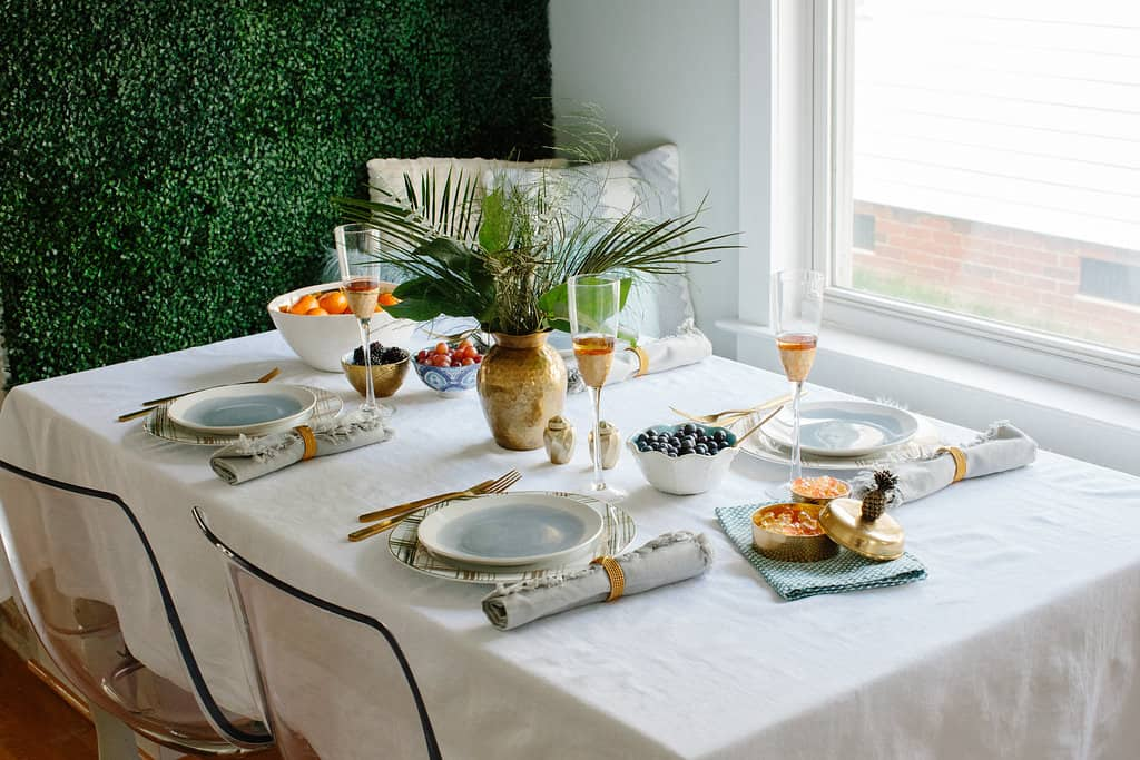 Simple Stylings 2017 Spring Home Tour tablescape