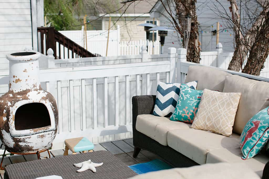 Simple Stylings 2017 Spring Home Tour deck