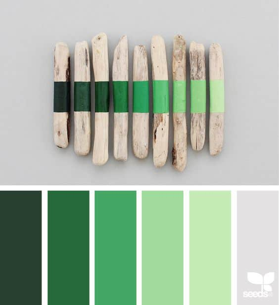 A Color Story: Kelly Green design seeds