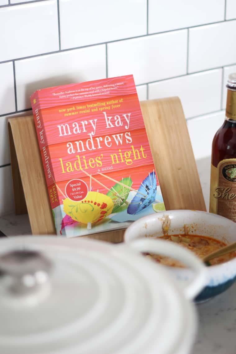 Corn and Crab Chowder Recipe + A Good Read book