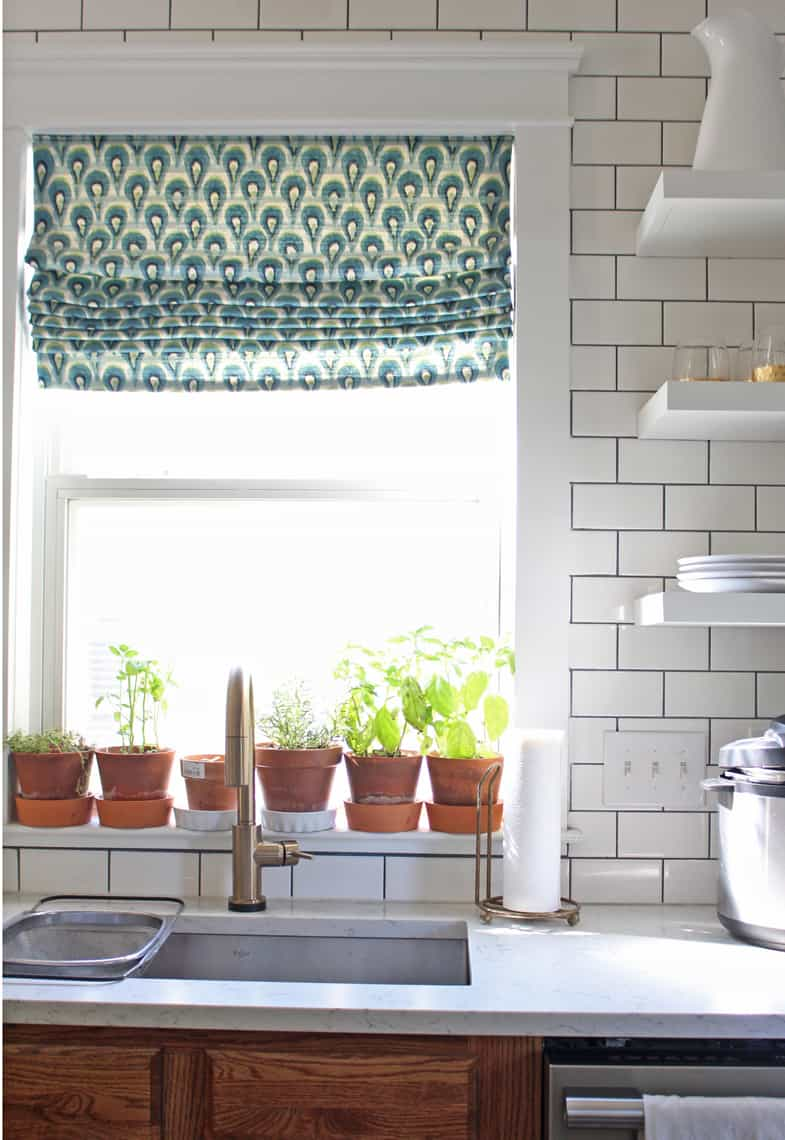 Our (Real Life) Summer Home Tour herbs