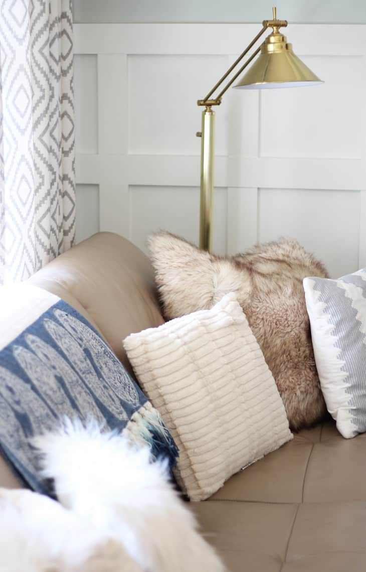 Our (Real Life) Summer Home Tour sofa