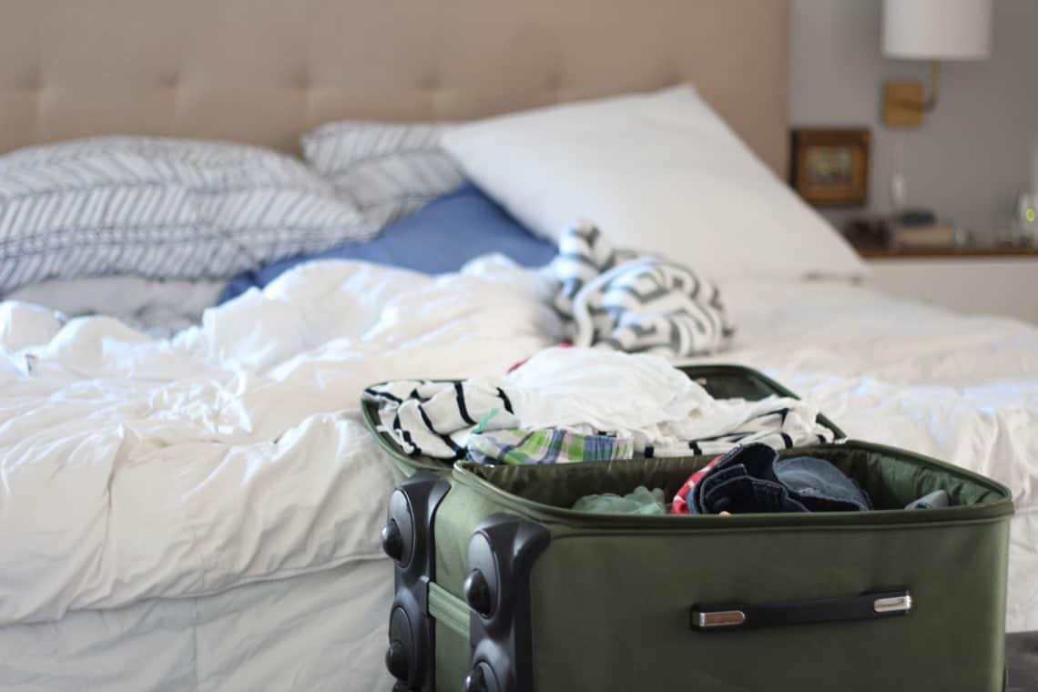 Our (Real Life) Summer Home Tour luggage
