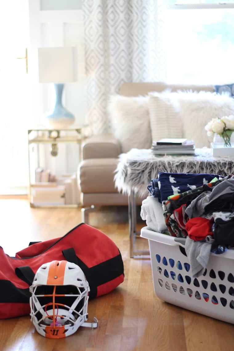Our (Real Life) Summer Home Tour laundry