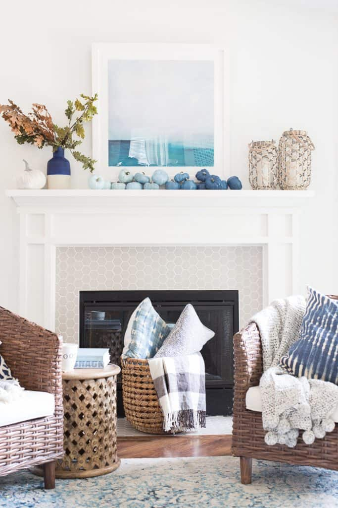 Oct/Nov Favorites + What's New Around The House mantel