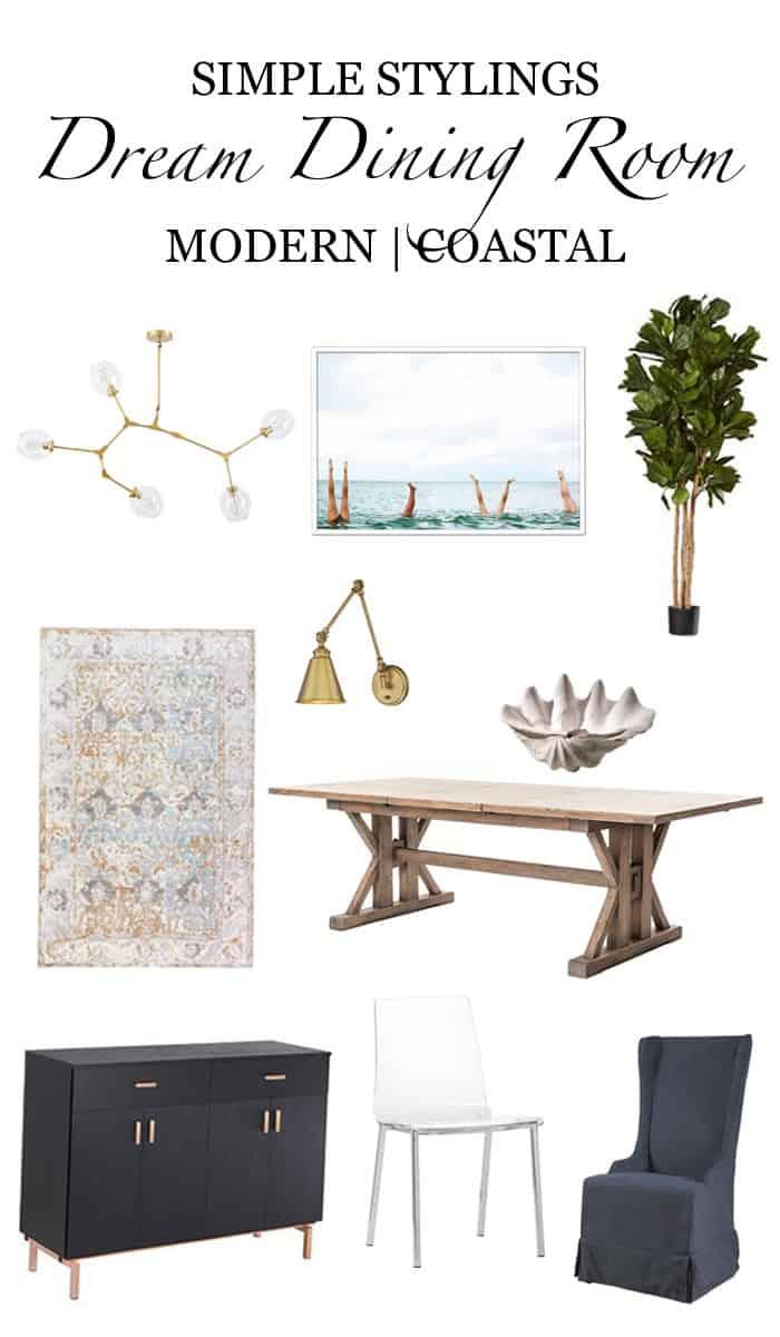 My Dream Dining Room Design Board for Pinterest