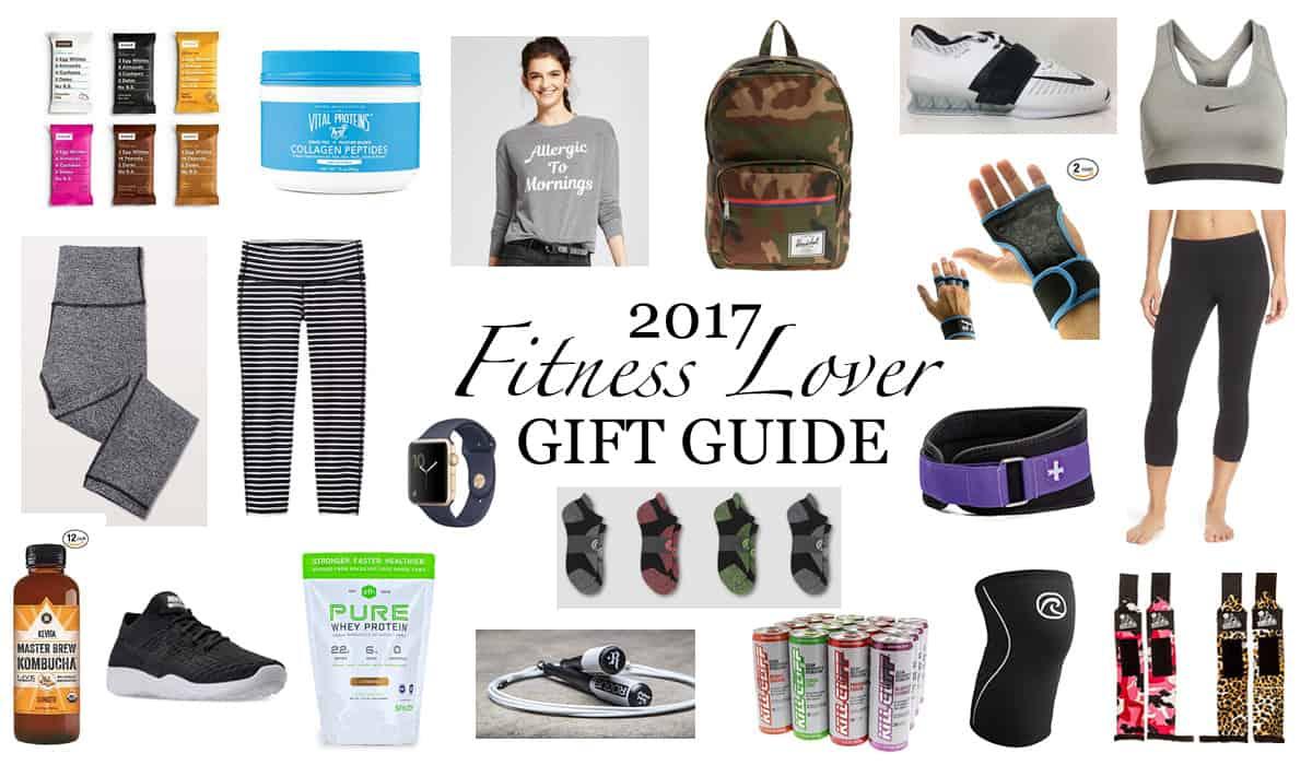 2017 Gift Guide For The Fitness Freak