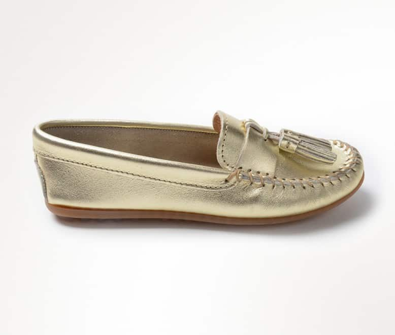 Oct/Nov Favorites + What's New Around The House gold loafers