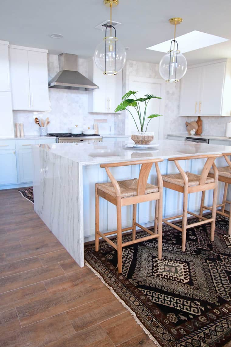 Home of the Month: Kelsey of Left and Level's Boho Abode kitchen